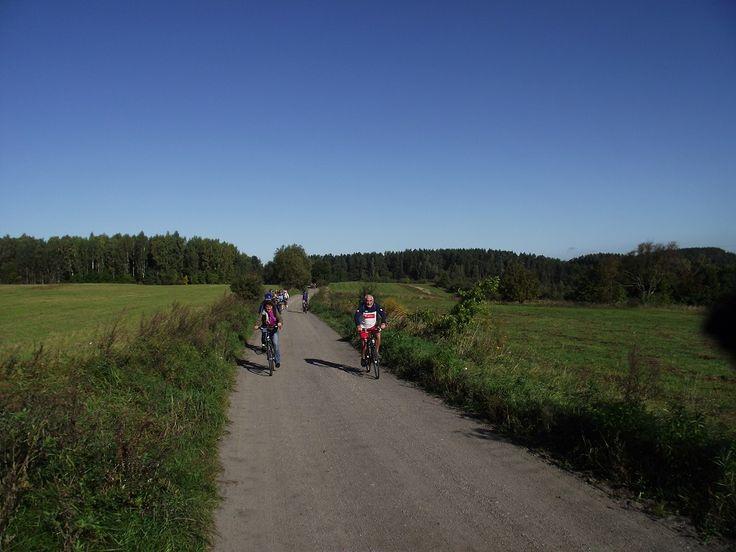 Chętnych do przejechania szlakiem nie brakuje.  www.it.mragowo.pl