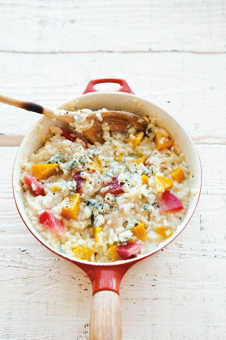 Golden Beet & Blue Cheese Risotto | Food | Pinterest | Blue Cheese ...
