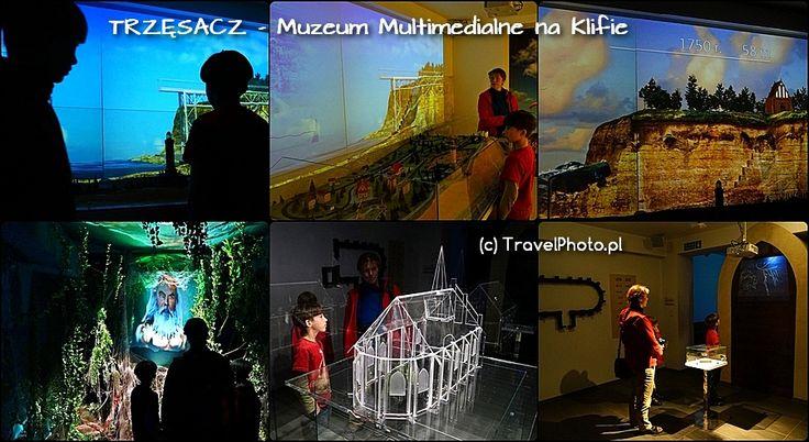 Trzęsacz - Muzeum klifu Genialne multimedialne muzeum. Tu dowiesz się jakie były losy kościoła w Trzęsaczu od strony legend i zjawisk zachodzących w przyrodzie.