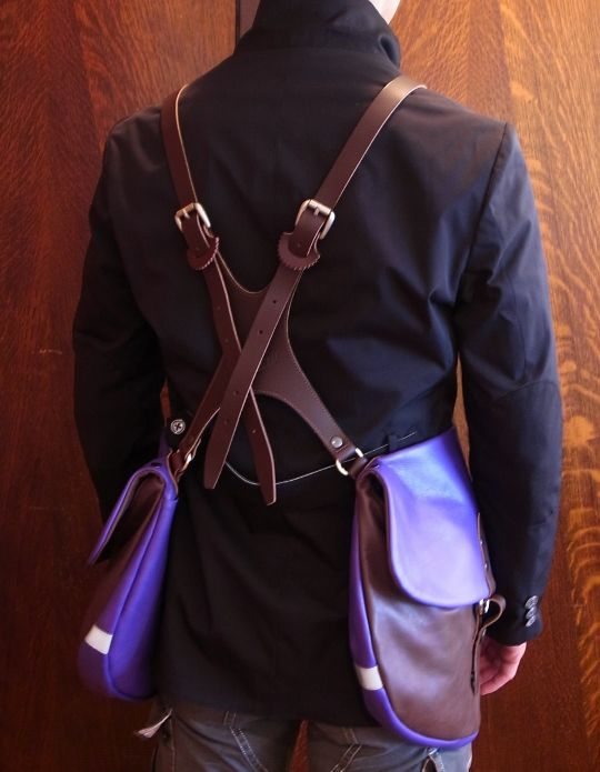 Beautiful Bicycle Bag // This would GREATLY help in my classes. A child-size design would also do great