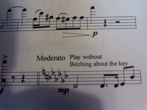 (;: Music Jokes, Bands Humor, Classic Music, Bands Nerd, Sheet Music, Marching Bands Problems, Plays Piano, Funny Music, Music Humor