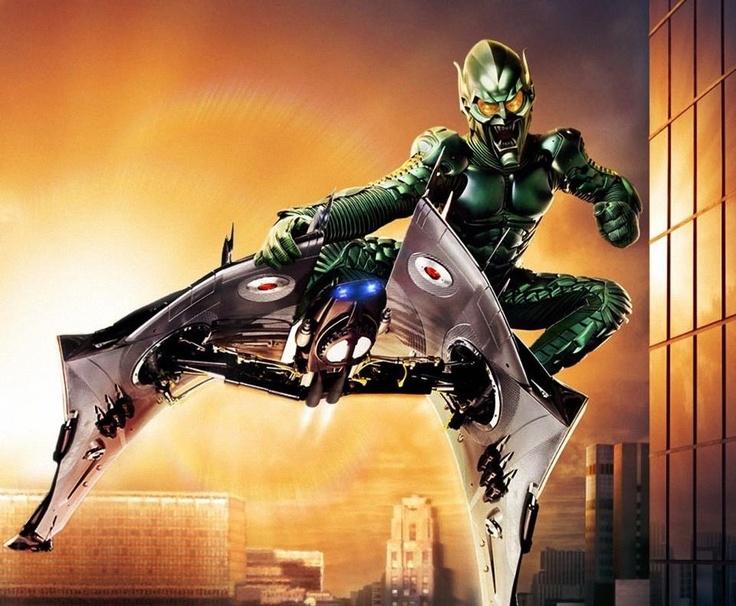 Green Goblin. Spider-Man movie | Green goblin | Pinterest ...