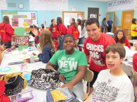 Woodland Middle School Hosts Mix It Up Day