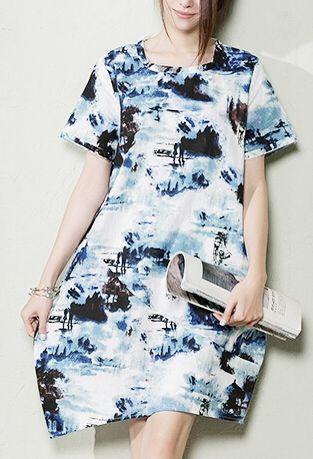 painted loose sundress. Breathy summer linen dress floral linen sundresses shift dress those old memery