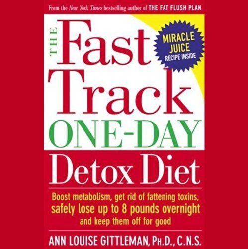 The Fast Track One-Day Detox Diet   [Ann Louise Gittleman, C.N.S.]