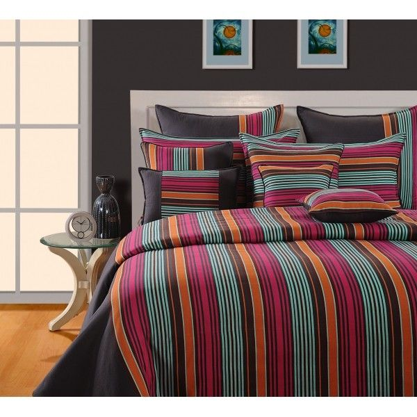 SWAYAM COLOR STRING -MAGICAL LINEA BED SHEET-1506-Your home décor helps you to uphold your living standard so why not give it the attention it needs. When your guests enter your home,