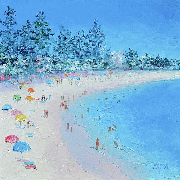 Manly Beach, Sydney  #beachart #beachdecor #coastaldecor
