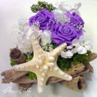 Composizioni di fiori stabilizzati