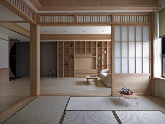 日式建築中的自然風雅