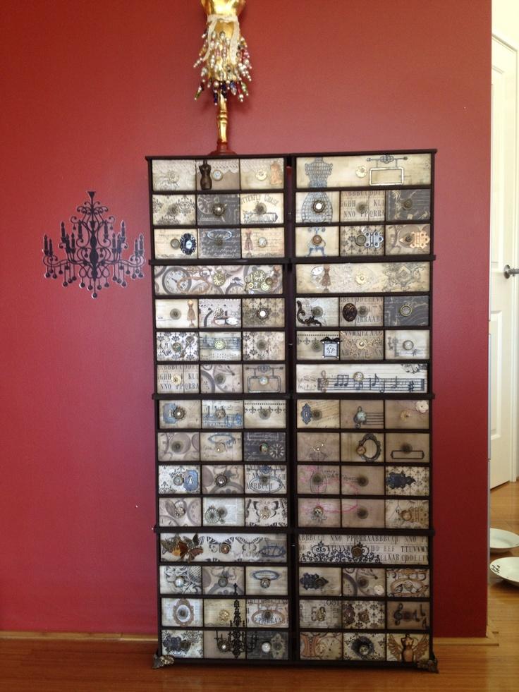 Kaiser craft drawers. 8 sets!