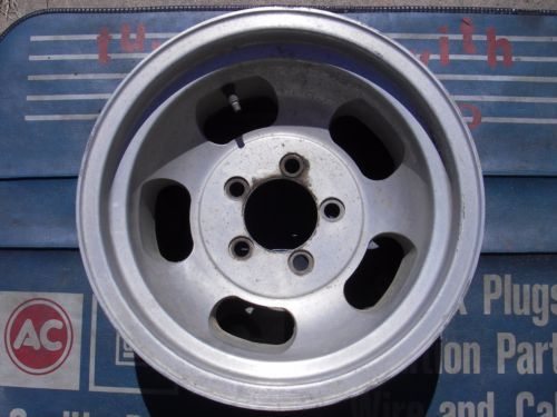 Chevy aluminum slot rims