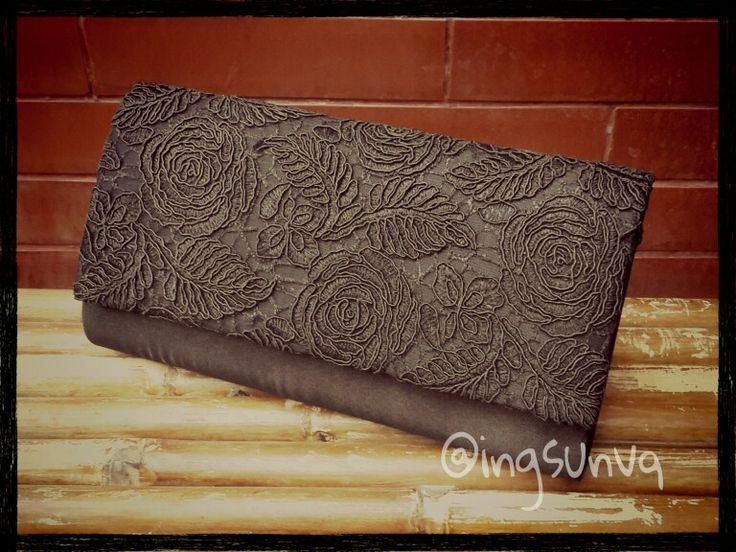 Black lace. Simple yet elegant.