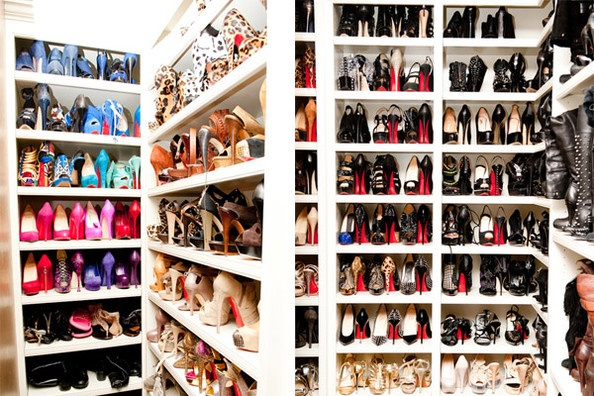 i could go for a closet full of louboutins