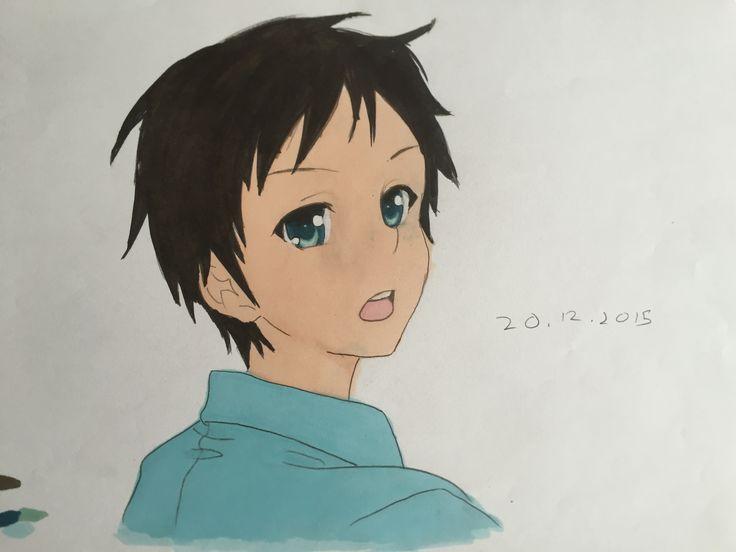 Makoto from Denpa onna to seishun otoko... Or Hikari from Nagi no asukara (i don't remember) ( ;; >_<  )