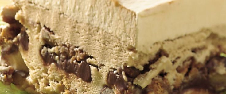 Dig into this frozen dessert layered with three types of ice cream - a delicious make-ahead treat.