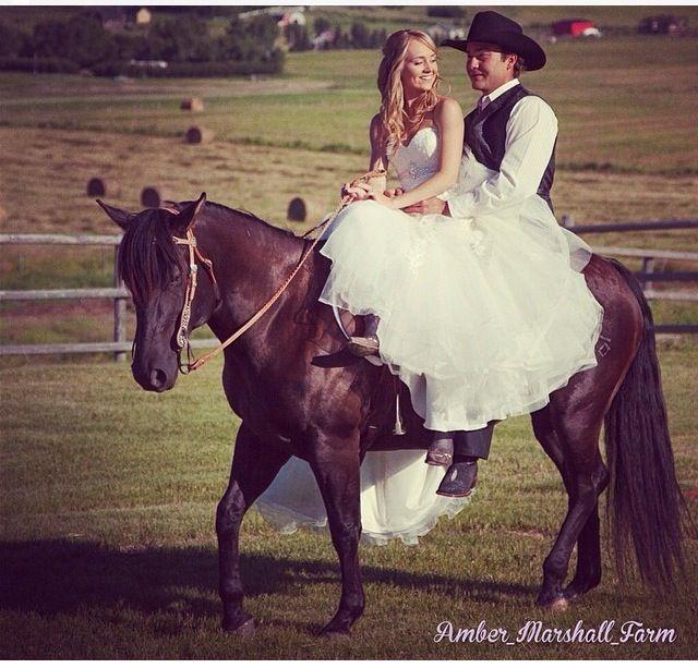 Amber Marshall - wedding photo. Heartland
