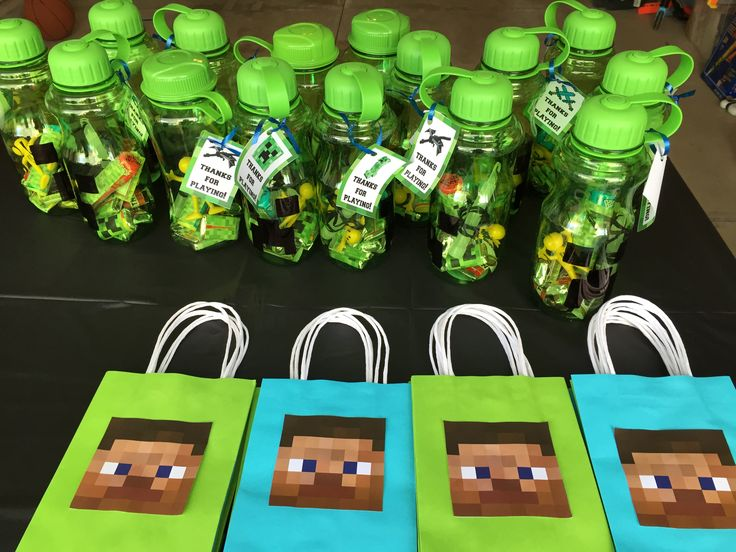 Minecraft party idea