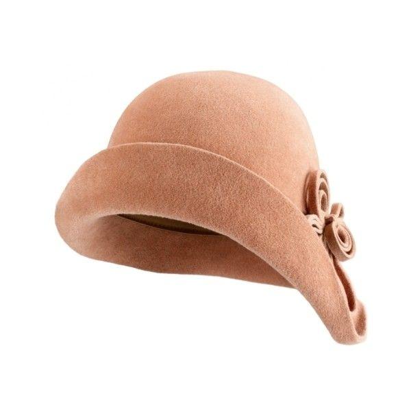 Helen Kaminski Abia Cloche Hat ($295) found on Polyvore