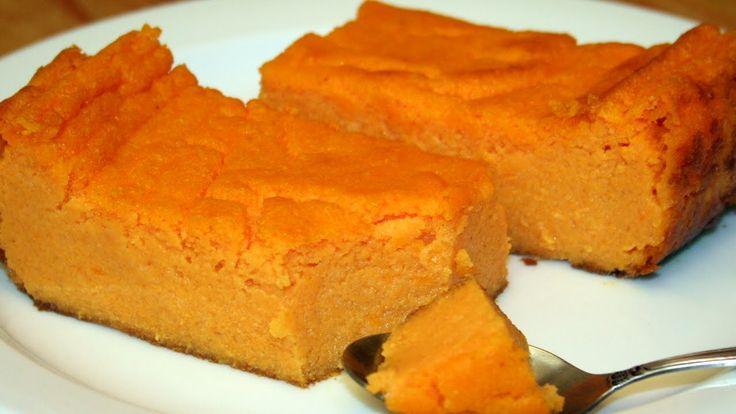 Десерт из тыквы : Нежная запеканка из тыквы с манкой. Рецепт блюда из тыквы