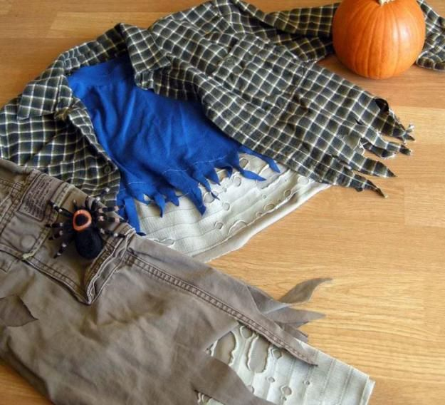 Boys DIY Zombie Costume | 18 DIY Zombie Costume Ideas - Halloween Party Ideas by DIY Ready at http://diyready.com/18-diy-zombie-costume-ideas/