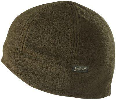 Seeland Conley fleece beanie hat - kleur Shaded olive