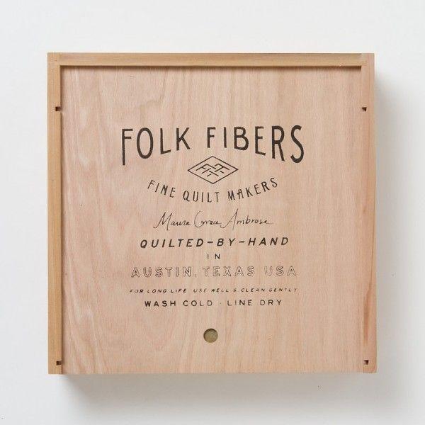 folk fibers packaging