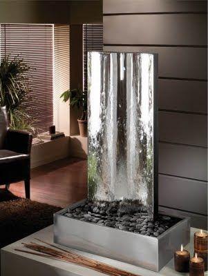 17 mejores ideas sobre fuentes de agua interiores en - Fuentes decoracion interior ...