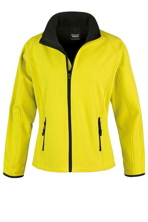 Jachetă softshell de damă, imprimabilă Result Core #result #resultcore #softshell #jachete #jacheteprintate #jachetebrodate #promotionale #promowear