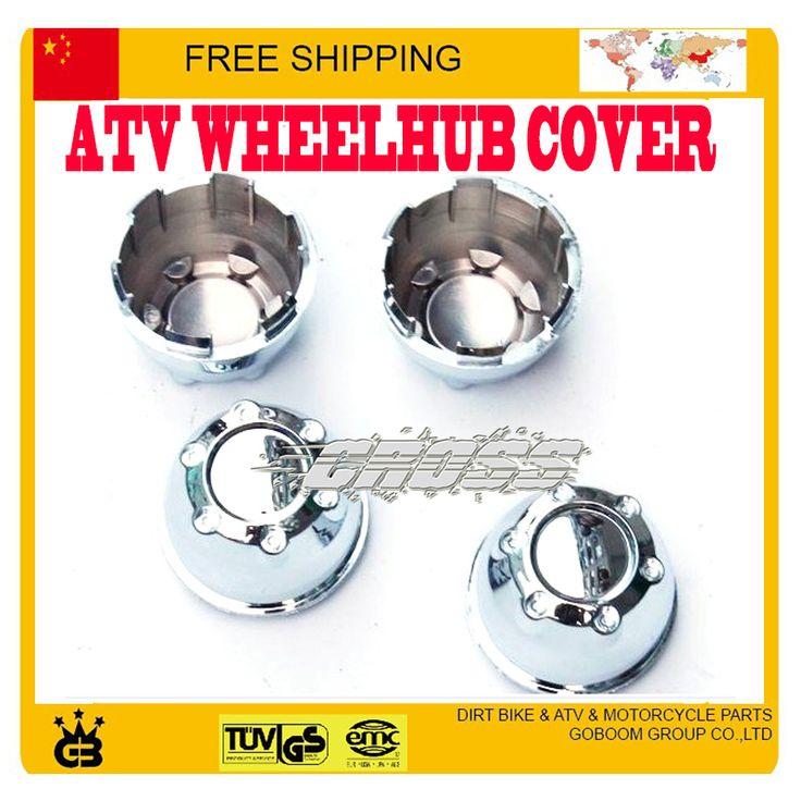 "8"" 10"" 12"" wheelboss WHEEL hub cover Decorative ANTI-DUST COVER CAPS 200cc 250cc ATV QUAD BUGGY accessories Parts free shipping"