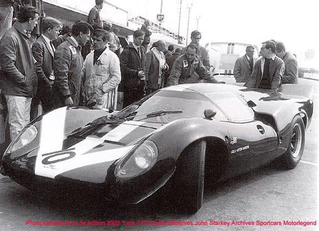 Lola-Aston Martin T70 Mk3 SL73 101  Le Mans 1969 Surtees/Hobbs