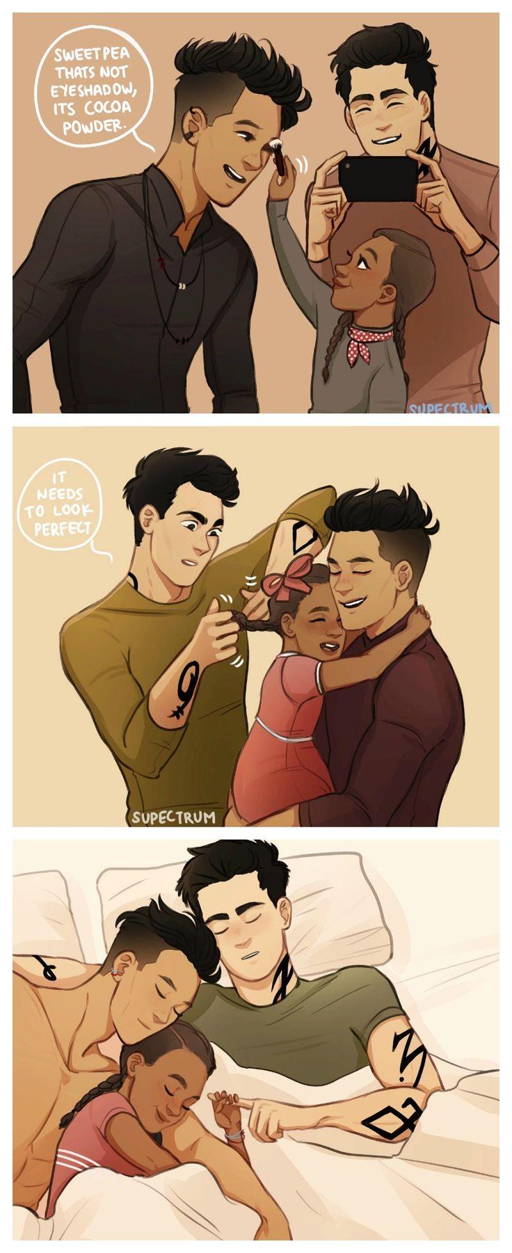 Precious~ (Malec, Madzie, Alec, Magnus, Mortal Instruments, Shadowhunters)