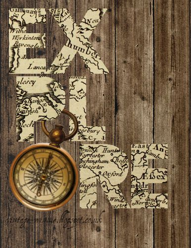 Would like to do this with cut outs of map locations of favorite travel destinations.