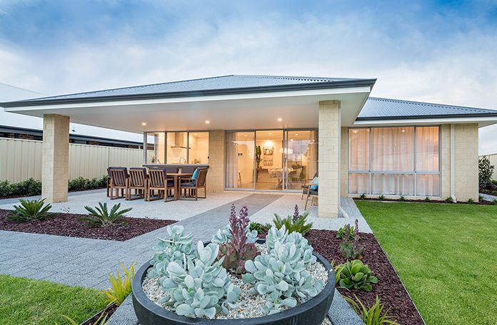 This 4 x 2 design exudes sophistication and style, with spacious rooms and an entertainer's alfresco.