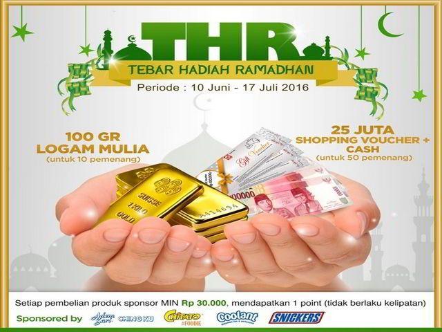promo circle k tebar hadiah ramadhan berhadiah emas logam mulia 100gram