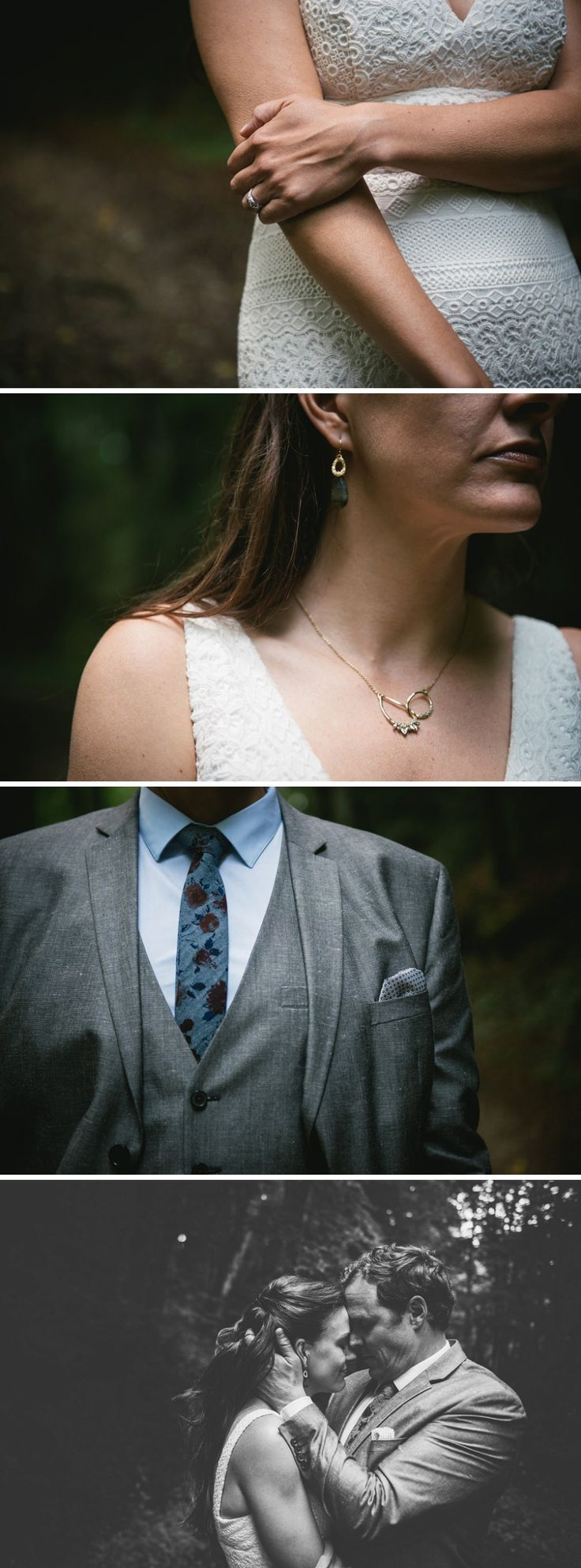 Couple session in the woods // Zephyr & Luna Photography