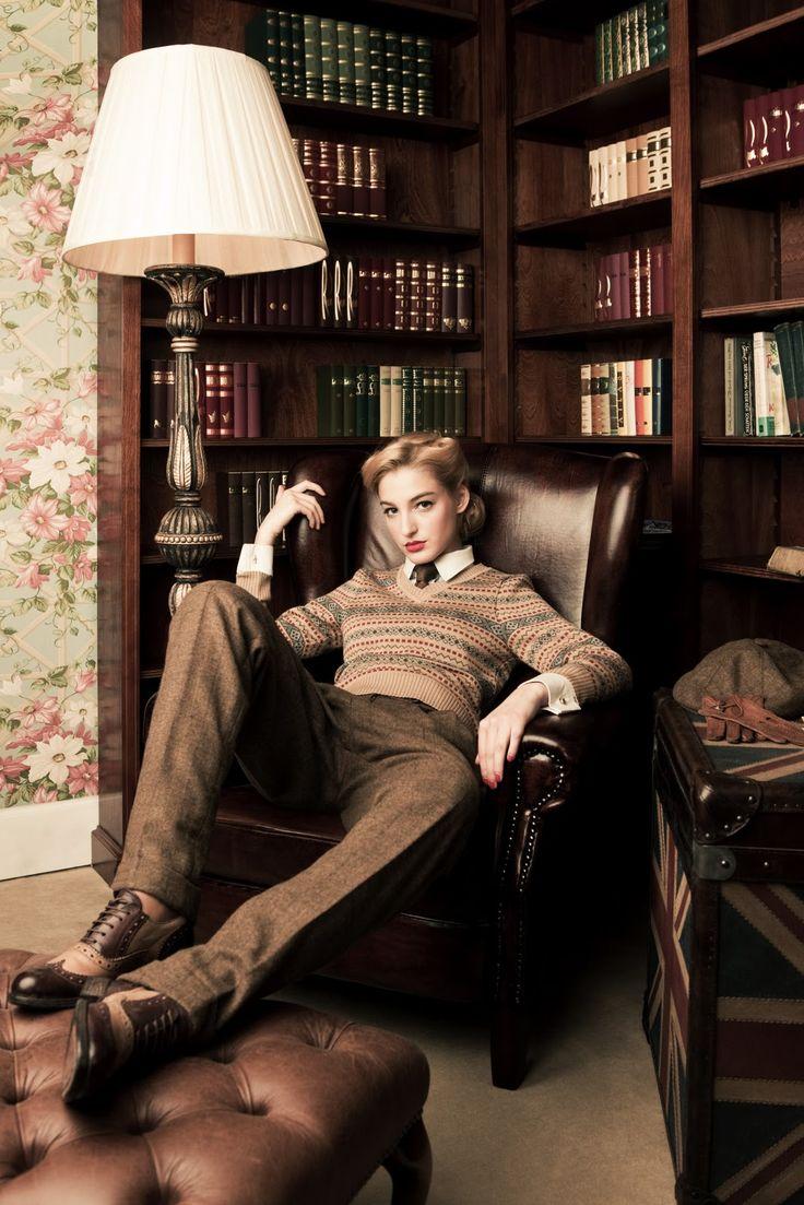 Lena Hoschek - wish I looked that good in men's wear