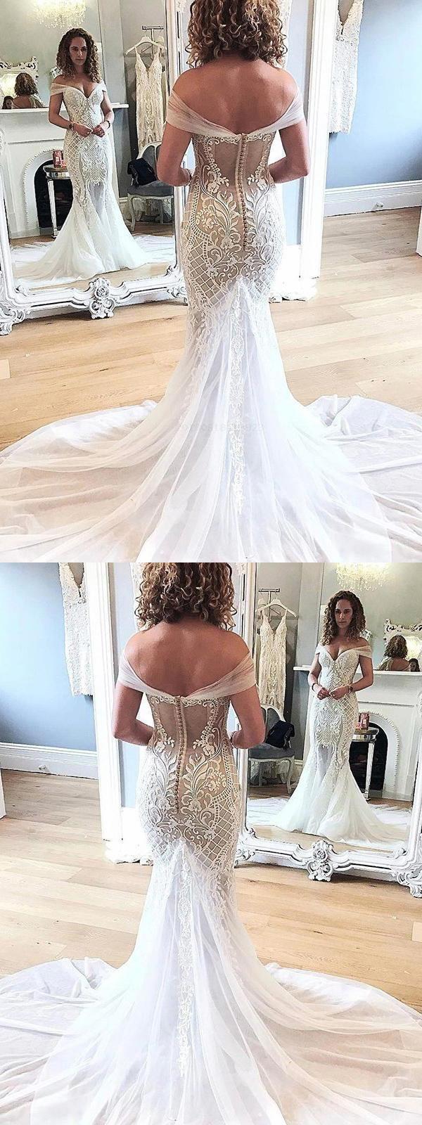 Mermaid Wedding Dress Wedding Dress Lace Custom Wedding Dress Vintage Wedding Dress Custom Mermaid Wedding Dress Wedding Dresses Lace Mermaid Wedding Dress [ 1600 x 600 Pixel ]
