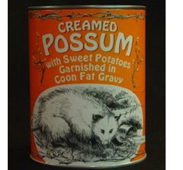 Creamed Possum #scaryforeignfood