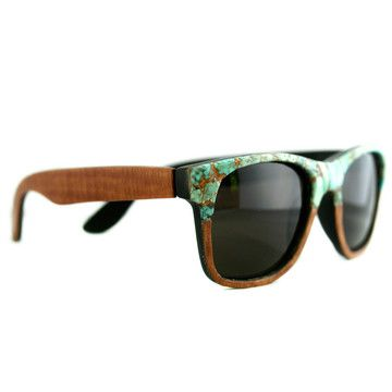 I liked this design on #Fab. Two Tone Wayfarer Turquoise