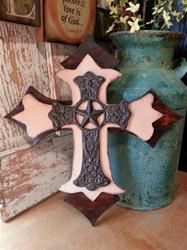 Old Timer Cross | 17in by 19in $40 at PeopleBark.com Suggest your design, today!