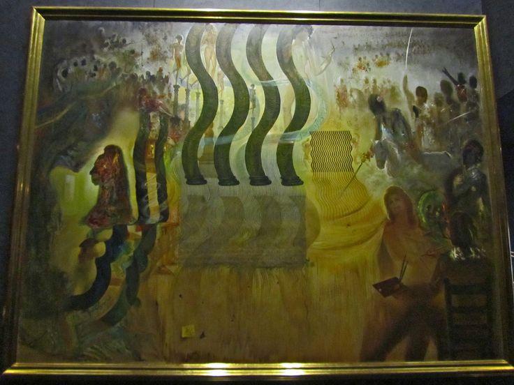 Музей Сальвадора Дали в Фигерасе. Американский доллар глазами Дали.