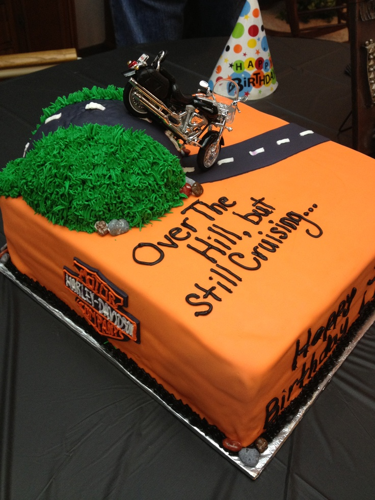 291 Over the Hill birthday cake by Desserts by Lori Occasion