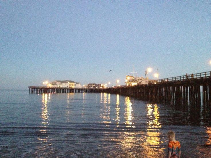Santa Barbara Pier en Santa Barbara, CA