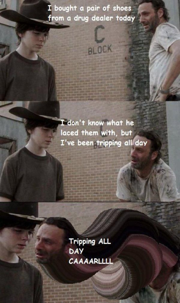 18 Terrible Rick Grimes Dad Jokes - Gallery