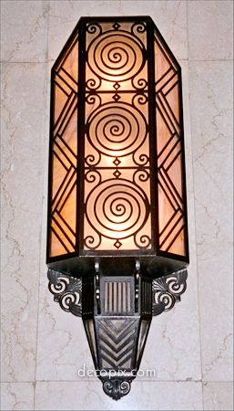 Deco sconce , Peace Hotel, Shanghai                                                                                                                                                                                 More