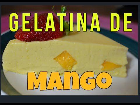 GELATINA ESPUMOSA DE FRAMBUESA rellena de salsa de mango, mousse de fremabuesa - YouTube