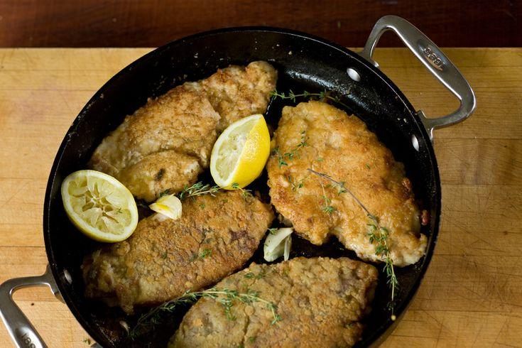 Chicken Saltimbocca with Prosciutto and Pecorino