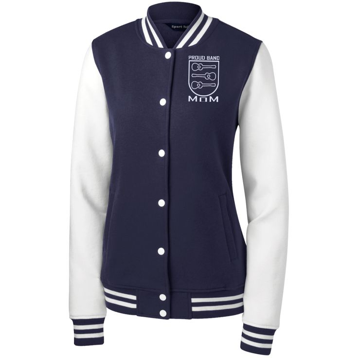 Ukulele Mom Crest Letterman Jacket