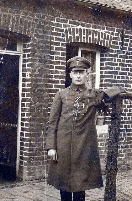 Catholic chaplain, German Army, WW1 http://www.flickr.com/photos/drakegoodman/3028721735/