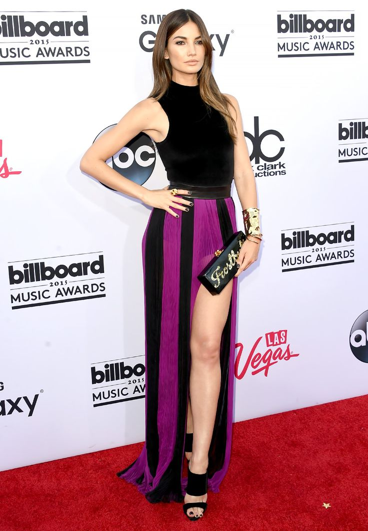 Lily Aldridge in Balmain F/W15 at the Billboard Music Awards (May 2015).